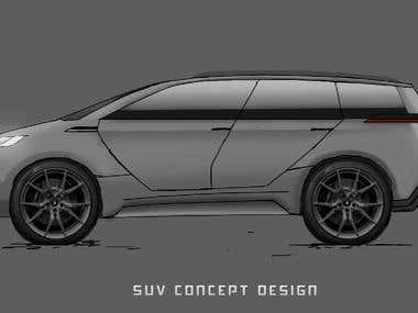 SUV Concept design