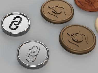 Game coin design
