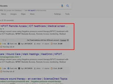 SEO for Ist Page rank - HealOmni