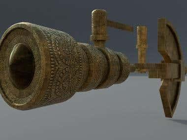 3D Showcase: Ancient Telescope