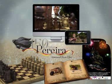 Corto Animado 150 años Pereira