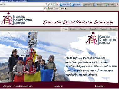 www.fundatiaspr.ro Website
