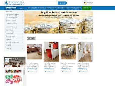 Website Designing and Product Listing