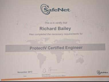 Protect V (VmWare Encryption) Certificaton