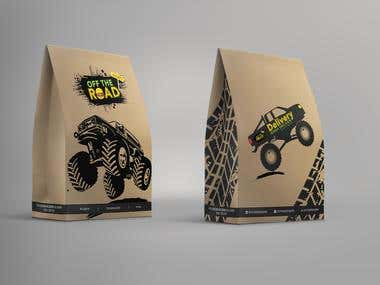 Off The Road Bag Design