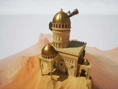 3D Showcase: Observatory of High Mountain
