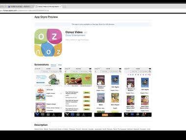 Oznoz Video iOS