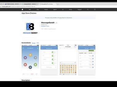 Message Bandit iOS
