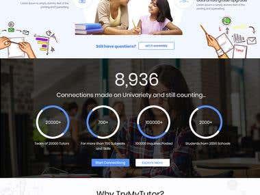 Online Tutor UI/UX