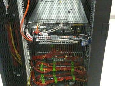 DC cabling work