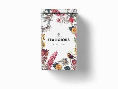 Tealicious - Branding / Product Design