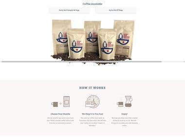 CozyCupCoffee - Shopify Store