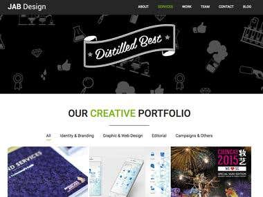 Jab Website Design & Development