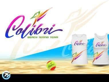 Logo for Colibri Beach Tennis Team