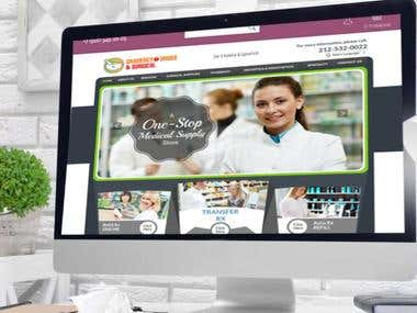 Gramercydrugs Website in Wordpress