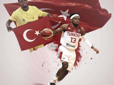 Bobby Dixon or Ali Muhammed Turkey Design