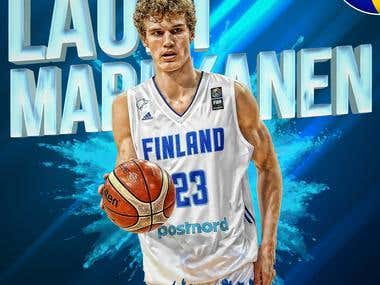 Lauri Markkanen Design