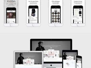 Adoorn - Mobile App