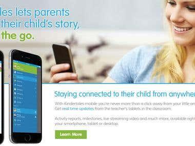 Android & iOS Kindertales