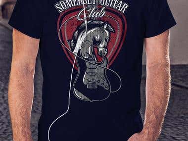 somerset Guitar Tshirt