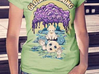 GLOBAL WARMING TSHIRT