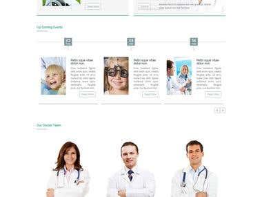Medical/Health Website Development Wordpress