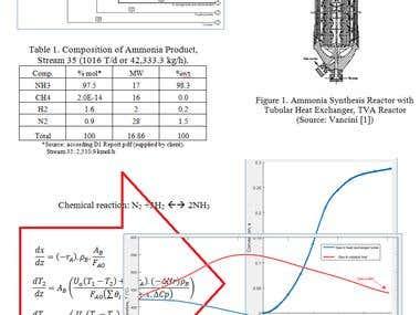 Ammonia Reactor Design
