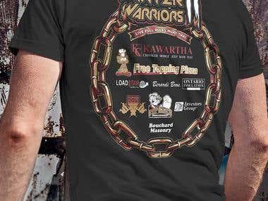 Kawartha Combat Tshirts Design