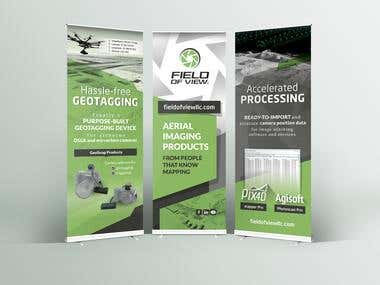 RollUp/PopUp Banner Design