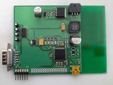 Development Board for 32bits Vehicle Localization Device