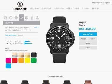 magento - eCommerce (Customized) - Watch