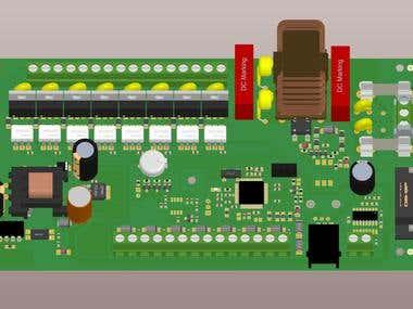 Pellet burner control board