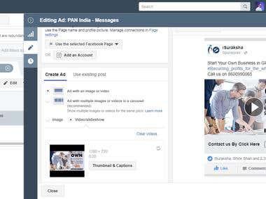 Facebook Ad Campaign | Advert | SMM