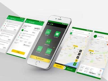 online taxi booking Android + IOS with backed Admin panel