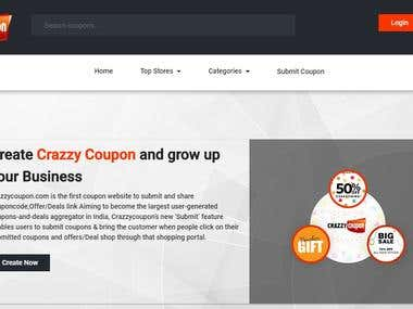 Crazzycoupon | Online Couponcode Providing website