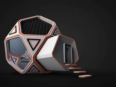 Mars Home Planet 3D Modeling Challenge