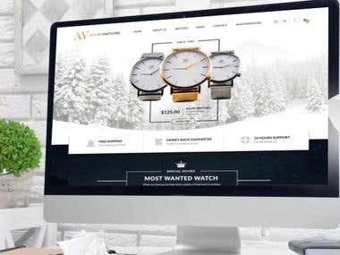 Aslanwatches Website in Magento 2