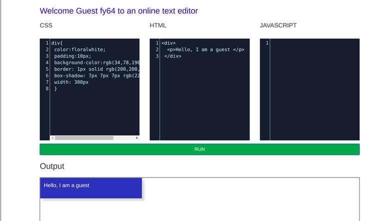 Text online editor | Freelancer
