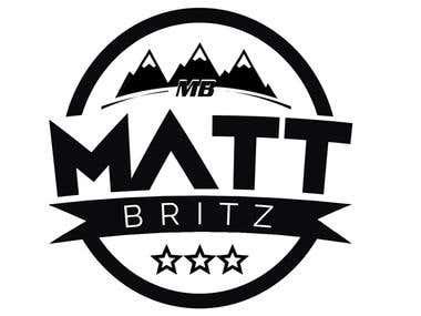 Matt Britz Logo Design