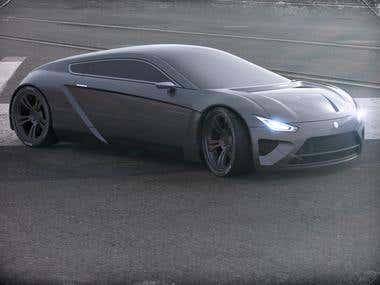 Volta compact. Concept car