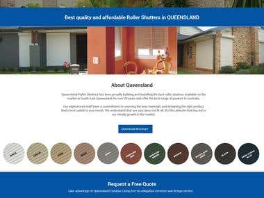 Website for Home Improvement Company