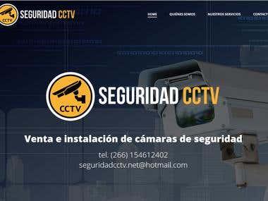 Desarrollo de sitio web Seguridad CCTV