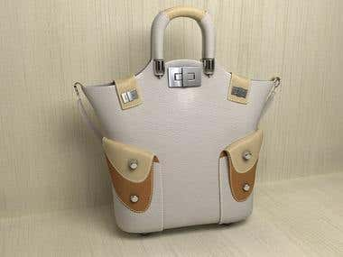 3D Hand Bags