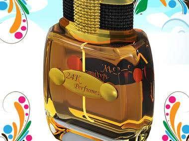 3D Perfume Bottle Designs