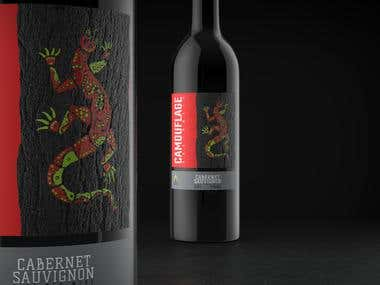 New World wines visual identity