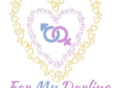 designed jewellery logo - For my darling
