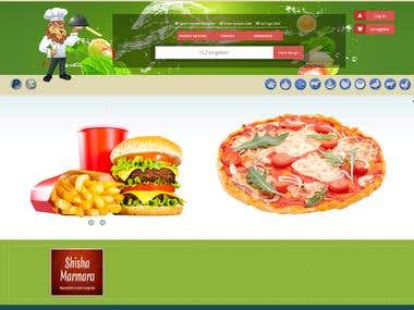 Online food ordering and online reservations system.