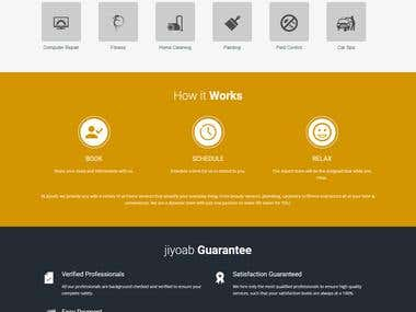 Service website.