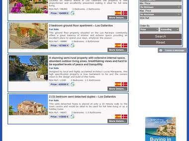 Online Property Sale and Rent Website