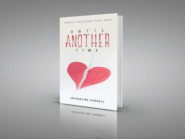 Until another time book cover design